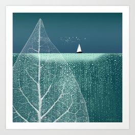OCEAN WONDERLAND VIII Art Print