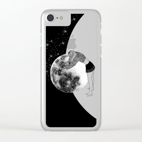 Waiting For The Night Clear iPhone Case