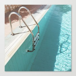 Swimming Pool IV Canvas Print