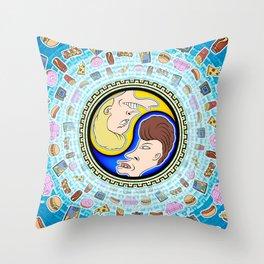 B&B Yin Yang Throw Pillow