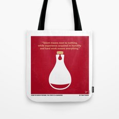 No194 My Perfume The Story of a Murderer minimal movie poster Tote Bag