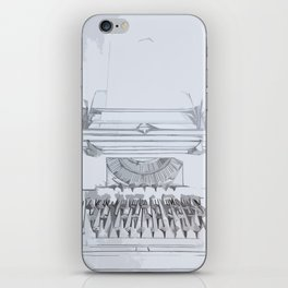 Typed Out iPhone Skin