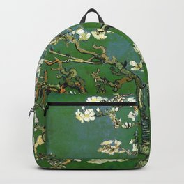 Almond Blossom - Vincent Van Gogh (avocado pastel) Backpack