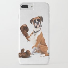 The Boxer (Wordless) iPhone Case