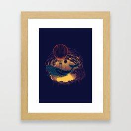 Swift Migration Framed Art Print