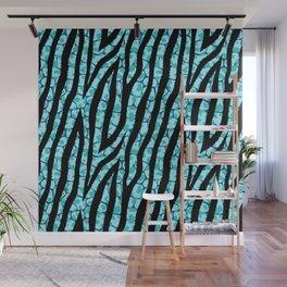 Fur mix texture - zebra 02 Wall Mural