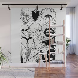 Flash Page II Wall Mural