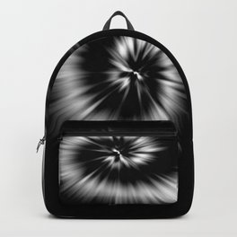 TIE DYE #1 (Black & White) Backpack