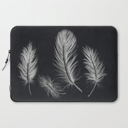 Chalk feather collection Laptop Sleeve