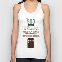 doctor who Tank Tops featuring Doctor Who by Ashley