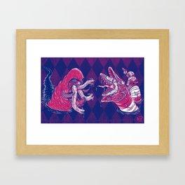 Sandworm vs. Tremor Framed Art Print