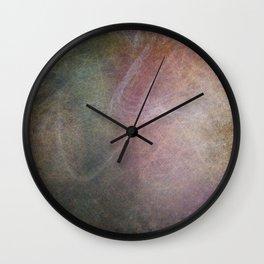 Ghost Tree Pattern. Wall Clock