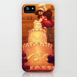 A Committed Baker iPhone Case