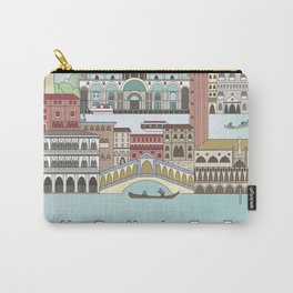 Venice City Poster Carry-All Pouch
