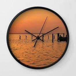 Nighttime Nuances Wall Clock