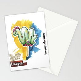 Dragon Horoscope Stationery Cards