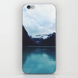 Moody Lake Louise iPhone Skin