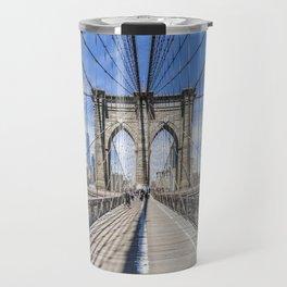 NEW YORK CITY Brooklyn Bridge Travel Mug