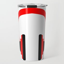 Pair Of Headphones Travel Mug