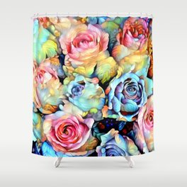 For Love of Roses Shower Curtain