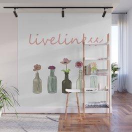 livelinerss . lettering . artwork Wall Mural