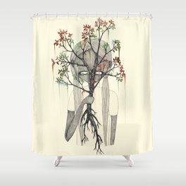 TREES NEVER LIED 03 Shower Curtain