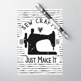 Sew Crafty - Just Make It - Do It Yourself - Wrapping Paper