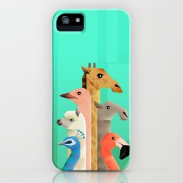 Long necks iPhone Case