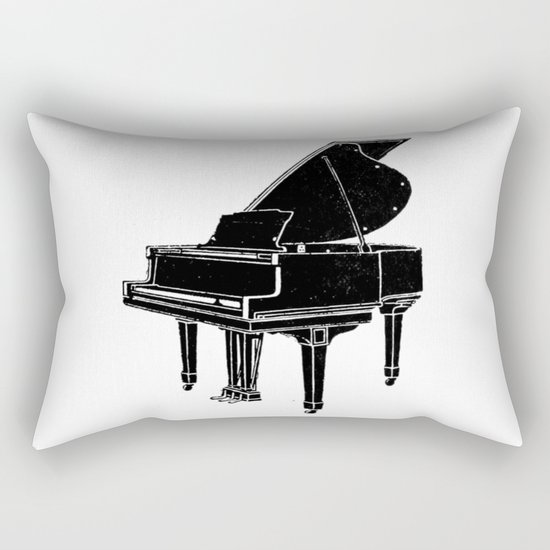 Piano Rectangular Pillow