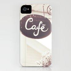 Coffee Shop iPhone (4, 4s) Slim Case