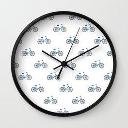 Ride my bike Wall Clock