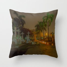 Day of the dead. Throw Pillow