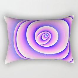 Mandala - Graphic Art (Flower Element) Rectangular Pillow