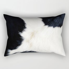 Farmhouse Cowhide Rectangular Pillow