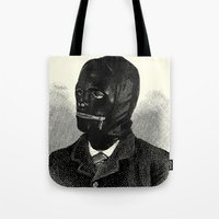 bdsm Tote Bags featuring BDSM I by DIVIDUS