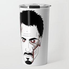 Zombie Robert Downey Jr. Travel Mug