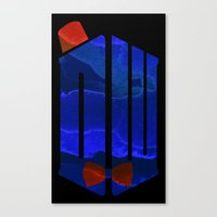 doctor Canvas Prints featuring Doctor by foreverwars