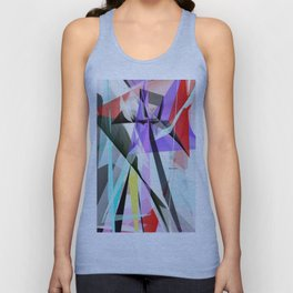 Abstract 5378 Unisex Tank Top