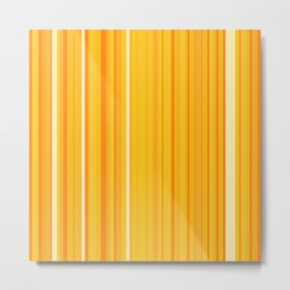 Stripe obsession color mode #8 Metal Print