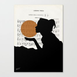 Music in the sun Canvas Print