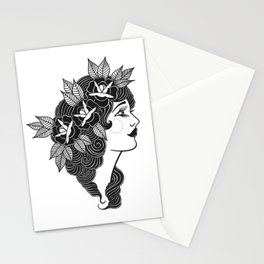 Pinup Profile Stationery Cards