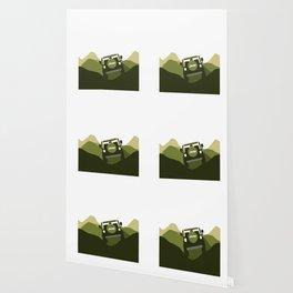 Jeep 'Driving' Green Mountain Wallpaper