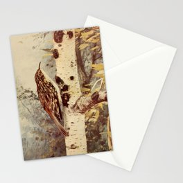 Neltje Blanchan - Bird Neighbours (1903) - Brown Creeper Stationery Cards