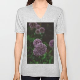 New York Alliums Unisex V-Neck