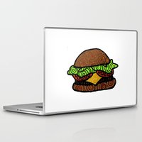 hamburger Laptop & iPad Skins featuring Hamburger by nsvtwork