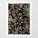 Dark Botanical Stravaganza by ikerpazstudio