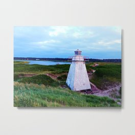 St-Peter's Harbour Lighthouse Metal Print
