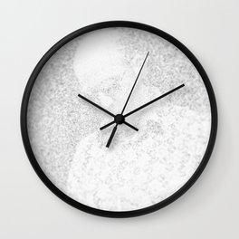 [De]generated ArcFace - Hunter S. Thompson Wall Clock