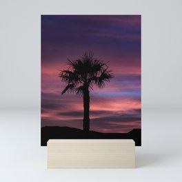 Palm Sunset - 8 Mini Art Print