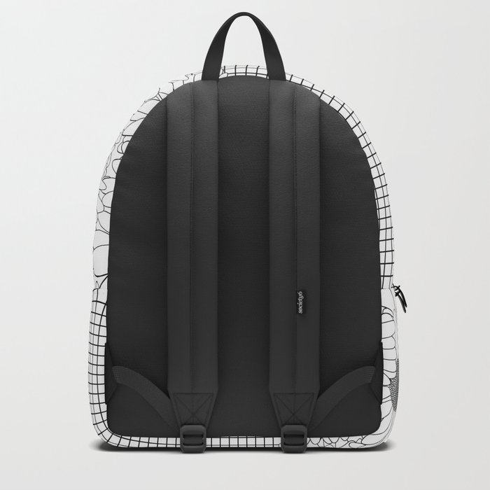 Daisy Grid Backpack